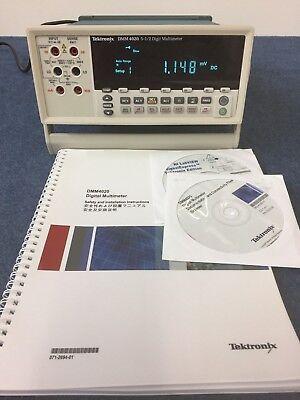 Tektronix DMM4020 5 1/2 digit multimeter
