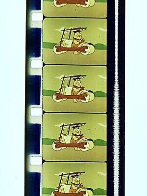 2 Flintstones The Astra Nuts Dino Turtlesaurus 16mm Films 12 Inch Reels Vintage