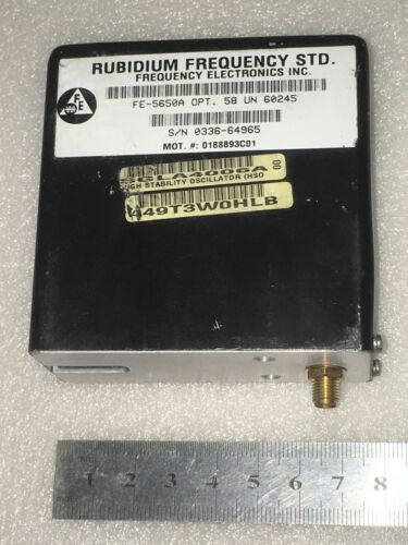 FEI FE-5650A 10MHz 1PPS Rubidium Frequency Standard