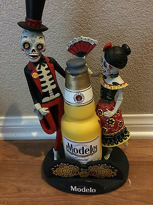 "Modelo Especial Day of the Dead Skeleton Bobble Head 12"" New Free Shipping"