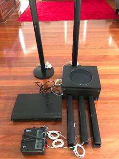 Panasonic Blue Ray DVD Player and Wireless speakers set for Sale