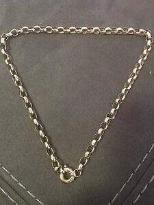 9ct gold belcher chain Rathmines Lake Macquarie Area Preview