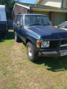 Toyota landcruiser fj62 60series 1985 mod 5 speed petrol 3f motor Wellington Point Redland Area Preview