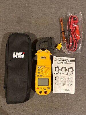 Uei Test Instruments Dl379b Digital Hvac Clamp Meter New Free Ship
