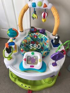 crib, mattress, car seat, jumperoo, breast pump, etc