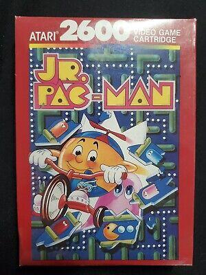 Jr. Pac-Man Atari 2600 Brand New Factory Sealed