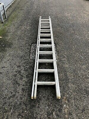 2 section double ladder