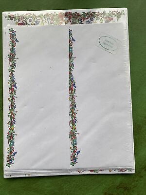 Lucy Rigg It Takes Two Christmas Stationary with Envelopes NEW