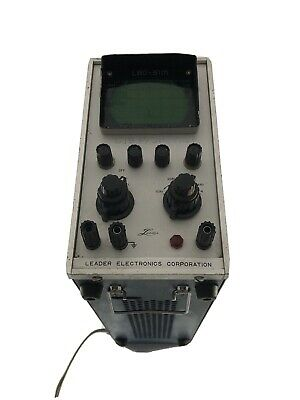Leader Electronics Corporation Lbo-31m Oscilloscope Untested Sold As Is