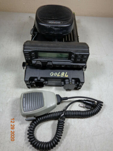 KENWOOD TK-890H TK890 TK890H UHF 100 watt Mobile Rear remote Mount radio - XTRAS