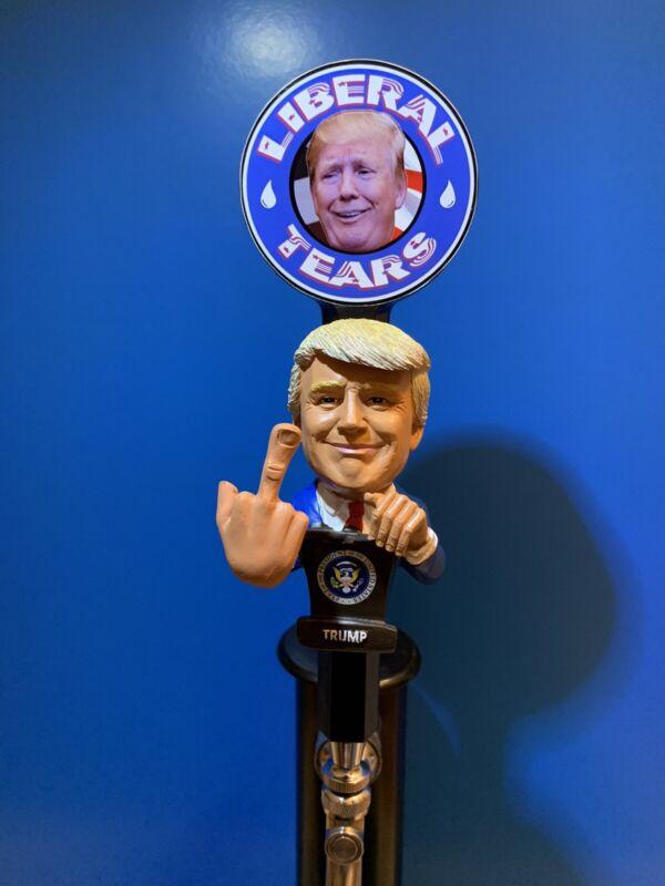 LIBERAL TEARS BEER TAP Republican President Donald Trump Keg Handle Kegerator