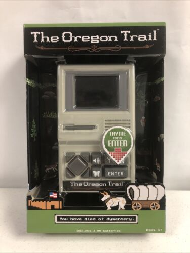 Computer Games - The Oregon Trail Electronic Handheld Video Game NEW Retro Classic Computer Game
