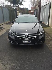 2013 Mercedes-Benz E250 AVANTGARDE BE OBSIDIAN BLACK Albert Park Port Phillip Preview
