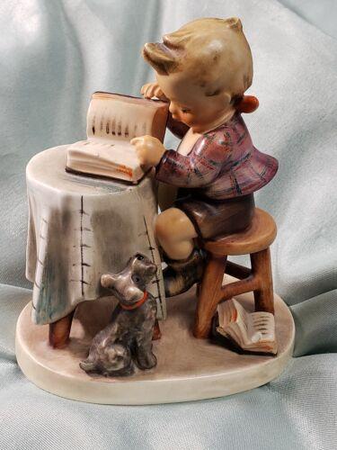 1955 Goebel Hummel 306 Little Bookkeeper Porcelain Figurine TMK-4