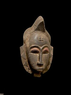 African mask 44 cm special GURO ivory coast african bast art african 2328  - G
