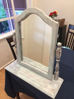 Vintage Mirror with Stand