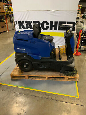 Windsor Karcher Rrb 360 T Battery Powered Ride On Sweeper