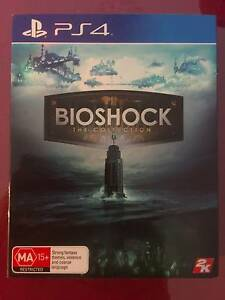 BIOSHOCK THE COLECTION PS4 Grovedale Geelong City Preview