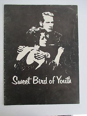 SWEET BIRD OF YOUTH Souvenir Program