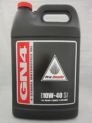 Pro Honda Gn4 4 Stroke Motorcycle Oil 10W 40 1 Gal 08C35 A141l01
