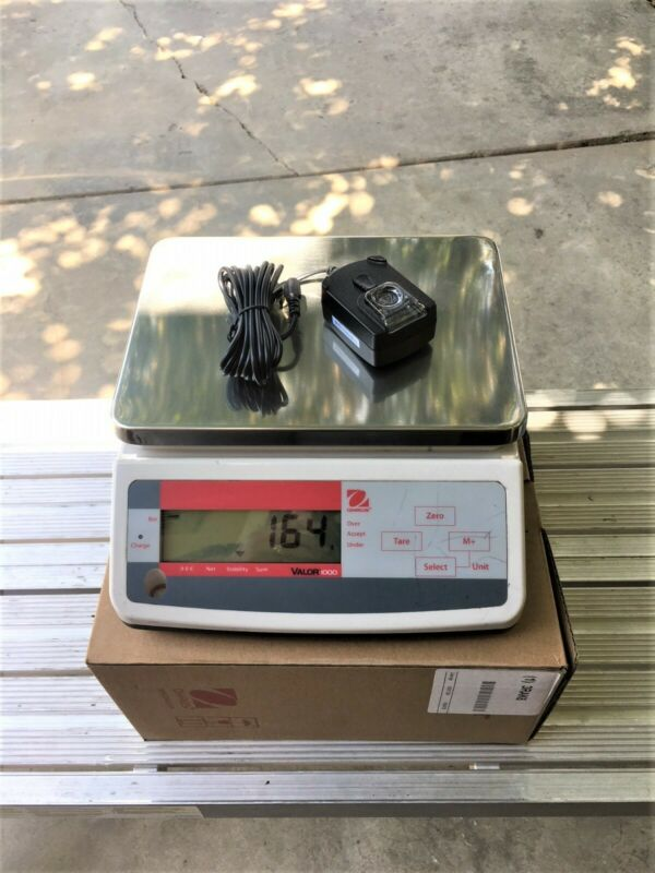 Ohaus Valor 1000 Compact Digital Scale (V11P3), Certified, .0001 accuracy