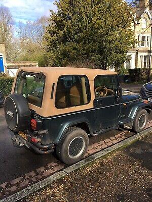1994 Jeep Wrangler Green Petrol Automatic 4L