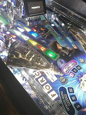 Star Wars SW Pinball Machine STAR DESTROYER LED Mod Stern