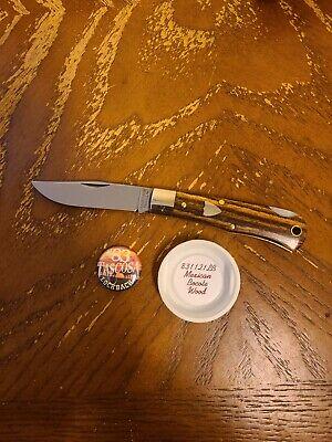GEC Great Eastern Cutlery 83 Mexican Bocote Wood Knife