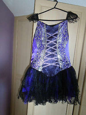 girls fancy dress halloween dress age 11/12 by tesco](Tesco Fancy Dress Halloween)
