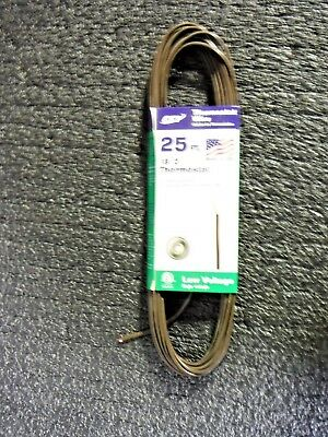 Made In Usa Thermostat Wire 182 25 Ft 09630mg
