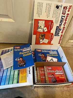 Complete Learn To Read System Reader Rabbit Age 3-7 Phonics Books Windows 95 (Reader Rabbits Complete Learn To Read System)