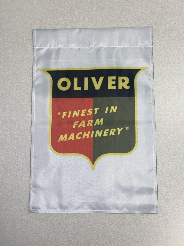 Oliver Tractor Garden Flag