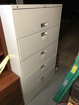 Hon Brigade 600 Series 5-drawer Lateral File - 695lq