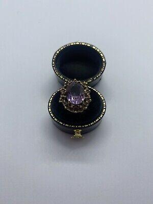 Vintage 9ct Amethyst Ring