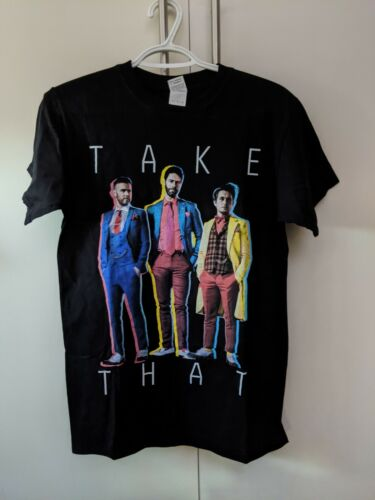 Take That Live 2015 (Black w/ Suits Photo) T-Shirt - Med - New/Unworn