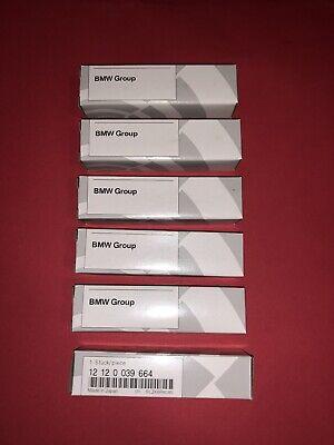 6PC Platinum 12120039664 SILZKBR8D8S Sparks Plug for BMW 320i 328i 428i 528i X3