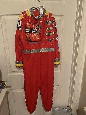 Kids Lightning Mcqueen Costume (Disney Store Lightning McQueen Costume Cars Child Size Medium)