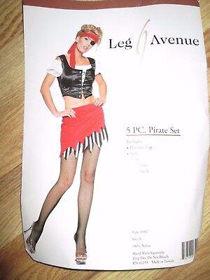 Womens PIRATE Halloween Costume S Sm Leg AVenue sexy (Leg Avenue Halloween Costume)