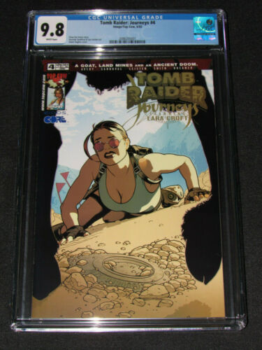 Tomb Raider #4 (2002) CGC 9.8 Adam Hughes Cover Top Cow / Image Comics Y928