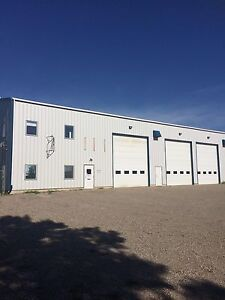 Shop & Yard Space for lease - Drive through