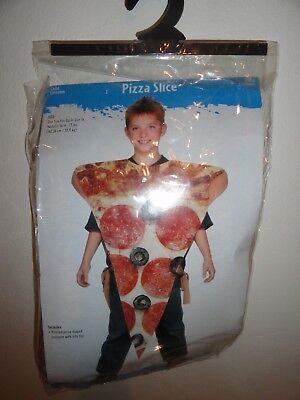 Pizza Halloween-kostüm (CHILDREN'S PIZZA SLICE HALLOWEEN COSTUME-FITS UP TO SIZE 14)