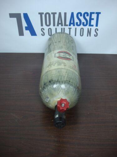 ISI 4500 PSI 60 MIN CARBON FIBER COMPRESSED AIR SCBA TANK LUXFER L87G-163 2010
