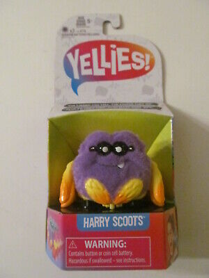 Yellies - Voice Activated Interactive Pet Spider - Harry Scoots
