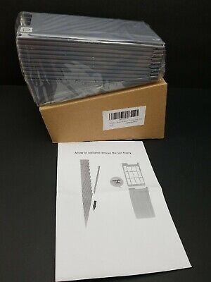 Nadamoo Retractable Time Card Plastic Adjustable Rack Holder Business Cards