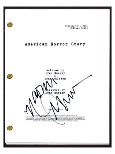 Naomi Grossman Signed Autograph AMERICAN HORROR STORY Pilot Script Pepper COA