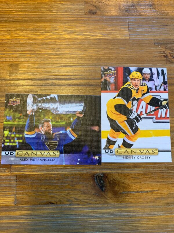 2019-20 UPPER DECK SERIES 2 CANVAS U-PICK FROM LIST  FREE SHIPPING U.S.