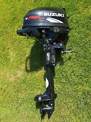 Suzuki DF2.5HP 4 Four Stroke outboard - ONLY 13Kg...Hardly used