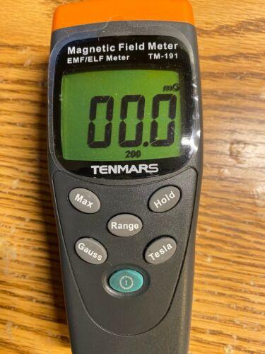 TENMARS TM-191 Magnetic Field Meter EMF/ELF Meter
