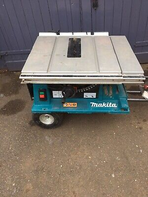 Makita 2704 110v Table Saw 260mm 110v Table Saw No Guide Or Guard