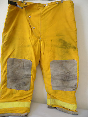 Globe Firefighter Bunker Pants Turnout Gear Sz 44x28